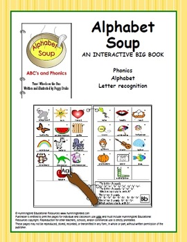 Alphabet Soup - An Interactive Big Book