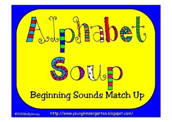 Alphabet Soup Beginning Sounds