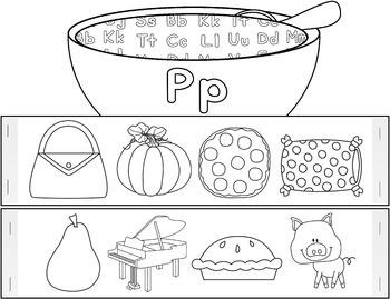 Alphabet Soup Headbands (NO PREP)