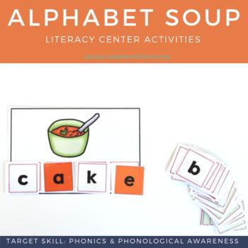 Alphabet Soup Language & Literacy Unit