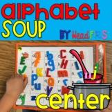 Alphabet Soup Magnet Letter Literacy Center