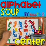 Alphabet Soup Magnet Letter Activity