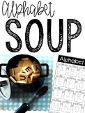 Alphabet Soup: Magnetic Letter Activities Bundle