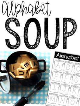 Alphabet Soup: Magnetic Letter Activities Bundle