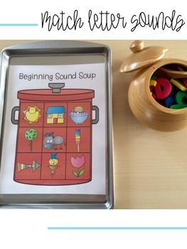 Alphabet Soup: Magnetic Letter Activities