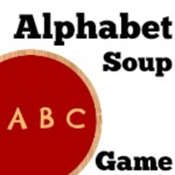 Alphabet Soup Spelling Game