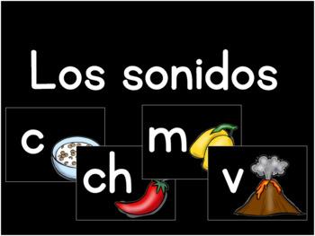 Alphabet letter sounds (Spanish)