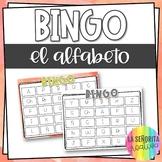 Alphabet Spanish Bingo Game | Bingo del Alfabeto
