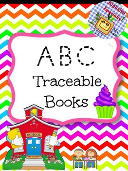 Alphabet Specialty: ABC Traceable Booklet