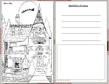 Alphabet Specialty: Quick Print Christmas Cards  Pre-K / Kindergarten / 1st