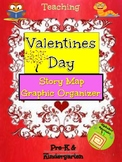 Alphabet Specialty: Valentine's Day Story Map/Graphic Orga
