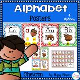 Alphabet Phonics Posters {Chevron Theme}