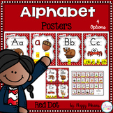 Alphabet Phonics Posters {Red Dot Theme}