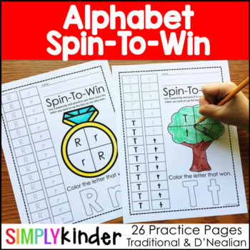 Alphabet Spin-To-Win