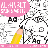 Alphabet Spin & Write - Learning Wheels