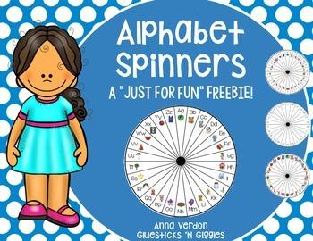 Alphabet Spinner FREEBIE