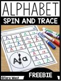 Alphabet Spinners [FREEBIE]