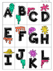 Letter Recognition Splat Games - Memory and Letter Match