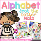 Alphabet Spot the Letter Mats Posters   Digital & Printable   Distance Learning