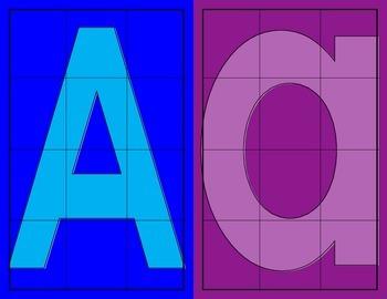 Alphabet Square Puzzles