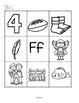 Alphabet Beginning Sounds Cut and Paste