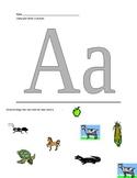 Alphabet Stamper Pages (Centers)
