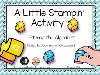 Alphabet Stamping Activities A-Z
