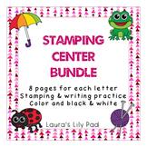 Alphabet Stamping Center Bundle