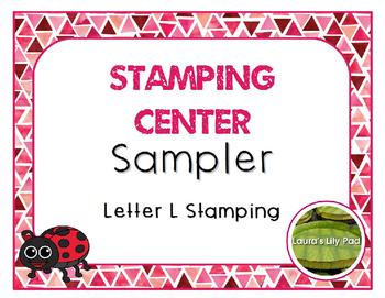 Alphabet Stamping Free Sampler