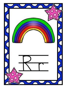 Alphabet - Star Themed