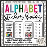 Alphabet Sticker Books