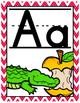Alphabet - Stitched Chevron