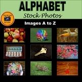 Alphabet Stock Photos Set - Beginning Sounds Clipart