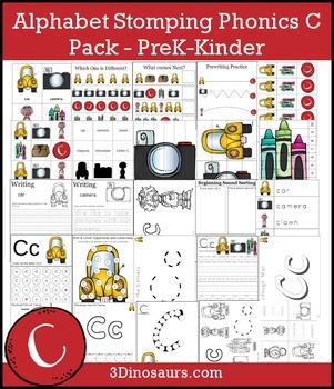 Alphabet Stomping Phonics C Pack - PreK-Kinder