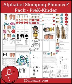 Alphabet Stomping Phonics F Pack - PreK-Kinder