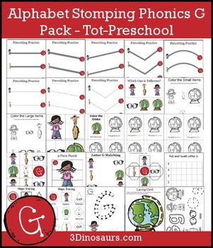 Alphabet Stomping Phonics G Pack – Tot-Preschool