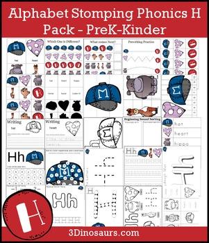 Alphabet Stomping Phonics H Pack - PreK-Kinder