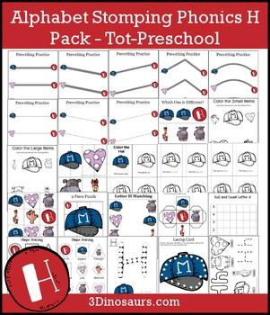 Alphabet Stomping Phonics H Pack – Tot-Preschool