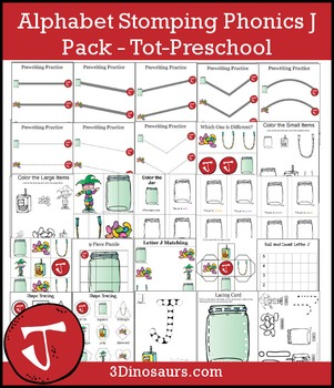 Alphabet Stomping Phonics J Pack – Tot-Preschool