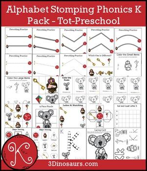 Alphabet Stomping Phonics K Pack – Tot-Preschool