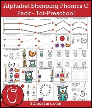 Alphabet Stomping Phonics O Pack – Tot-Preschool