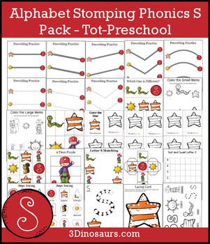 Alphabet Stomping Phonics S Pack – Tot-Preschool
