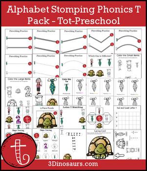 Alphabet Stomping Phonics T Pack – Tot-Preschool