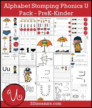 Alphabet Stomping Phonics U Pack - PreK-Kinder