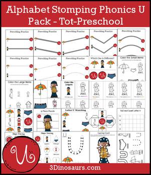 Alphabet Stomping Phonics U Pack – Tot-Preschool