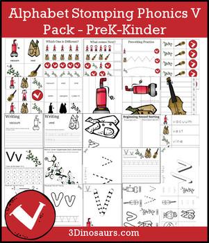 Alphabet Stomping Phonics V Pack - PreK-Kinder