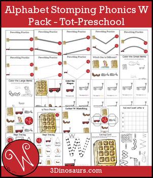 Alphabet Stomping Phonics W Pack – Tot-Preschool
