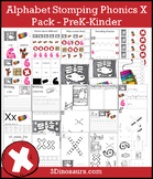 Alphabet Stomping Phonics X Pack - PreK-Kinder