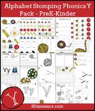 Alphabet Stomping Phonics Y Pack - PreK-Kinder