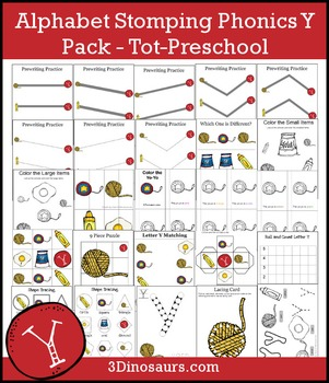 Alphabet Stomping Phonics Y Pack – Tot-Preschool